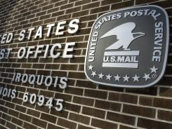 The United State Post Office on Highway 52 in Iroquois, IL.