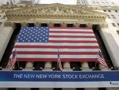 The New York Stock Exchange. File photo.