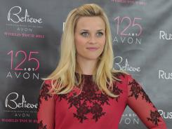 Reese Witherspoon, Avon Global Ambassador & Honorary Chairman of the Avon Foundation for Women, at the Avon Believe World Tour June 14, 2011 in Warsaw, Poland.