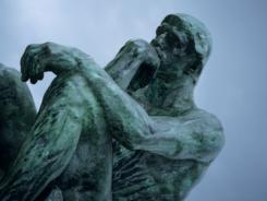 "Rodin's ""The Thinker"" in Paris."