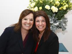 Mother and daughter Francine Baras, left, and Nicole Baras Feuer organized the Start Over Smart Divorce Expo in New York.