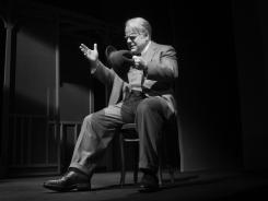 "Philip Seymour Hoffman stars as Willy Loman in Arthur Miller's ""Death of a Salesman"" on Broadway."