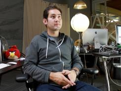 Kevin Systrom, the co-founder and CEO of Instagram.