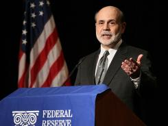 Federal Reserve Chairman Ben Bernanke on April 9 at the Financial Markets Conference in Atlanta.
