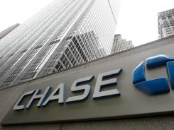 A JPMorgan Chase bank building in New York, photographed in October 2011.