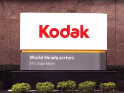 A sign at Kodak's corporate headqaurters in Rochester, New York.