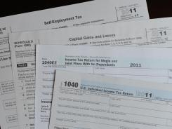 Tax forms for the 2011 tax year.
