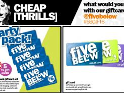 Five Below, a retailing chain aimed at teens and frugal shoppers.