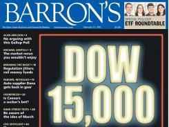 The cover of the Feb. 13, 2012, issue of Barron's.