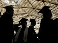 """More high school graduates are using online """"wish lists"""" to collect gifts."""