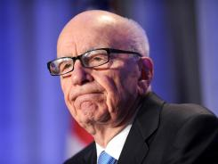 Rupert Murdoch at the National Summit on Education Reform in San Francisco in October.