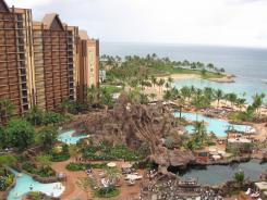 A time share property is typically in a resort location like Florida, California or Hawaii. In Oahu's Ko Olina resort area about an hour west of Waikiki, Hawaii, Aulani is a Disney hotel and time share development.