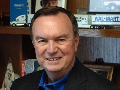 Mike Duke, president and CEO of Wal-Mart Stores.