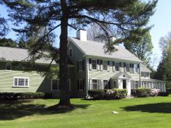 Baseball great Babe Ruth lived in this house in Sudbury, Mass., from 1922 to 1926, after he had been sent to the New York Yankees.