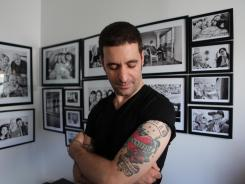 Angelo Merendino, who lost his wife, Jennifer, to cancer, documented the experience on a Facebook page.