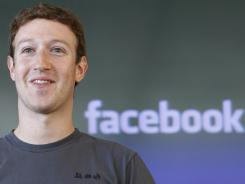 Facebook CEO Mark Zuckerberg has recently been meeting would-be investors as the social networking service begins marketing its IPO.