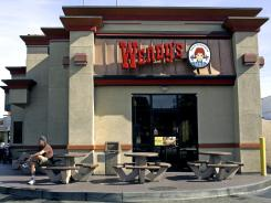 A Wendy's restaurant in Culver City, Calif.