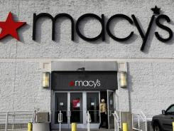 A Macy's department store in North Attleboro, Mass.