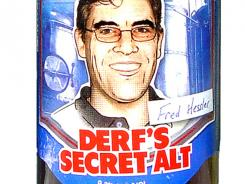 Derf's Secret Alt from Boston Beer Co. is 9.3% alcohol by volume (ABV).