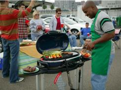 The Coleman RoadTrip Grill LX was judged the best compact grill.