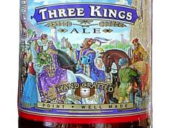 Three Kings Ale, by Stevens Point (Wisc.) Brewery, won a bronze medal for German-style Kolsch beer at the World Beer Cup 2012 competition.