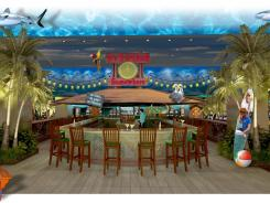 Jimmy Buffett's Margaritaville Casino, with a 5 o'clock Somewhere bar, is opening at the Flamingo resort in Biloxi, Miss.