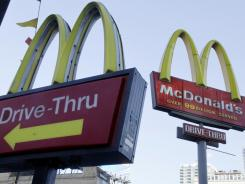 McDonald's annual shareholder's meeting takes place on Thursday, May 24, 2012, in Oak Brook, Ill.