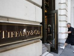 A Tiffany store on Wall Street in New York.