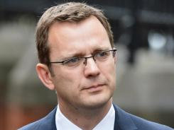 Andy Coulson, former editor of News of The World and former director of communications for the Conservative Party in Great Britain.