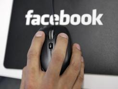 Facebook shares have fallen 22% below their offering price.