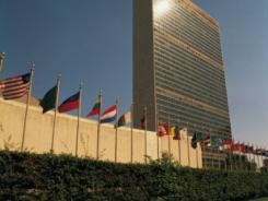 United Nations headquarters in New York.