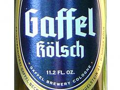 Gaffel Kolsch from Gaffel Brewery in Cologne, Germany, is 4.8% alcohol by volume.