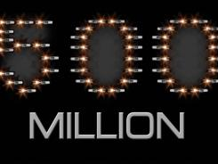 Zippo lighters provide a flaming salute to the 500 million lighter landmark reached on June 5, 2012.