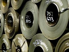 The Federal Reserve says steel manufacturing 'remained robust' from early April to late May, the period surveyed in its latest Beige Book report.