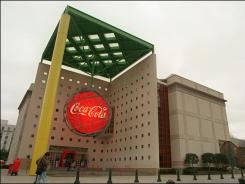 The World of Coca-Cola attraction in Atlanta, site of the soft drink giant's corporate headquarters.