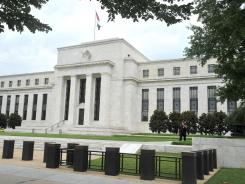The Federal Reserve building in Washington, D.C. photographed in 2011.