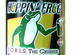 B.O.R.I.S. the Crusher Oatmeal Imperial Stout; Hoppin' Frog Brewing Co., of Akron, Ohio; 9.4% ABV.