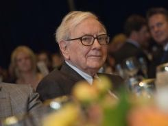 Billionaire Warren Buffett, CEO and chairman of Berkshire Hathaway, attends the 25th anniversary dinner of the Economic Club of Washington on Tuesday.