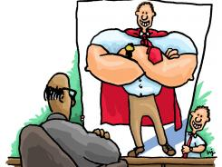 You've got to show your boss what a super worker you are as he prepares for your evaluation.