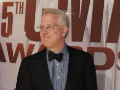 Glenn Beck arrives for the 45th annual CMA Awards at Bridgestone Arena in Nashville, Tenn. in November 2011.