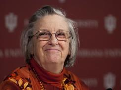 Elinor Ostrom, a professor of political science at Indiana University, in Bloomington, Ind., is the only woman to be awarded the Nobel prize for economics.