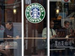Starbucks: Coffeehouse chain has shaved its electricity usage by 7.5% since 2008.