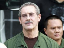 In this March 6 file photo, R. Allen Stanford leaves the federal courthouse in Houston.