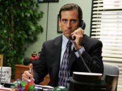 "Steve Carell played an arbitrary and erratic boss in NBC's sitcom ""The Office."""