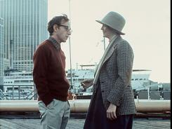 "A scene from 1977's ""Annie Hall,"" with Woody Allen (as the neurotic Alvy Singer) and Diane Keaton."