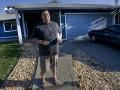 Alex Dorado, 25, of Citrus Heights, Calif., just moved into the first home he ever owned.