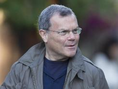 Martin Sorrell, CEO of the WWP group, walks to a morning session at the annual Allen &amp; Co. media summit in this file photo.(AP Photo/Nati Harnik)