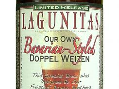 Lagunitas Bavarian-Styled Doppel Weizen is brewed by Lagunitas Brewing Co. of Petaluma, Calif. It is 9% ABV.