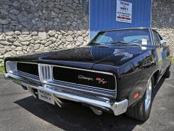 Andy Holeman says he spent 'at least $70,000' on this 1969 Charger, restored by Team Witt Restorations &amp; Customs in Nashville.