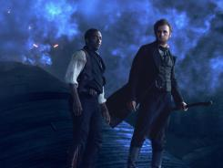 "Benjamin Walker, right, and Anthony Mackie in the 20th Century Fox film ""Abraham Lincoln: Vampire Hunter."" Rupert Murdoch's News Corp. is reportedly considering its publishing and entertaining companies intwo two companies."